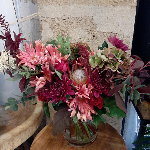 Bouquet-destructure-framboise-fleuriste-paris5eme