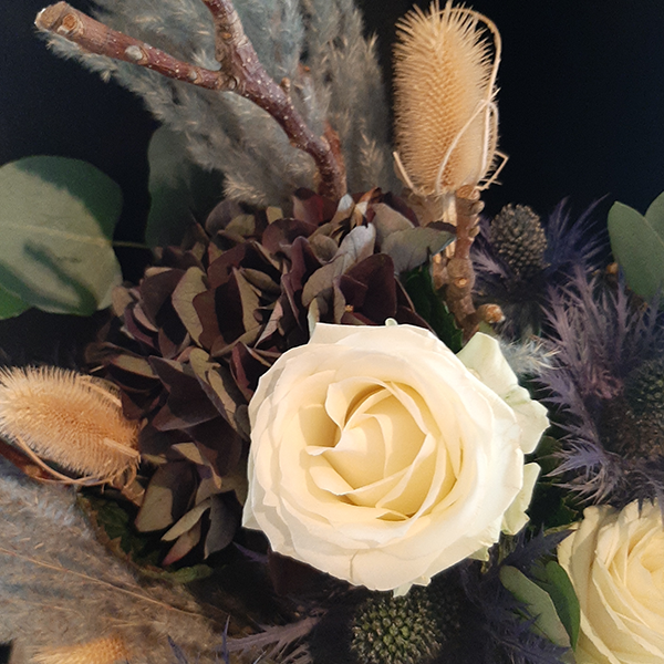 Bouquet déstructuré océan - Fleuriste La Maison des Fleurs Paris